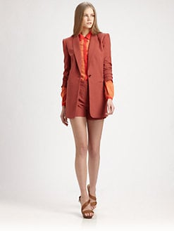 Rachel Zoe - Chase Woven Boyfriend Blazer