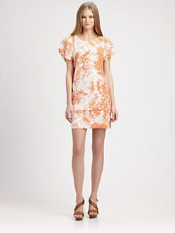 Rachel Zoe - Ines Silk Printed Dress