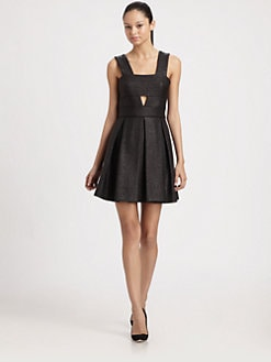 Robert Rodriguez - Raffia Box Pleat Dress