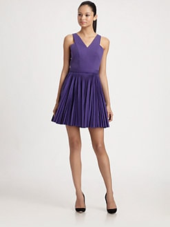 Robert Rodriguez - Pleated Cut Dress