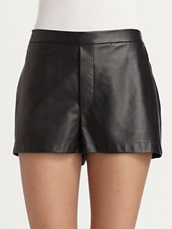 Robert Rodriguez - Leather Shorts