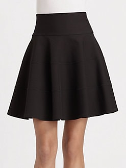Robert Rodriguez - Seamed Fit and Flare Skirt