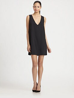 Robert Rodriguez - Illusion Crepe Dress