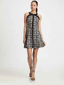 Robert Rodriguez - Filigree Print Dress