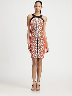 Robert Rodriguez - Medallion Scroll Print Dress