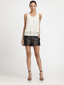 Robert Rodriguez - Sequin Silk Blouse