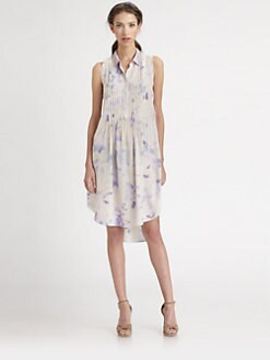 Rebecca Taylor - Hawaii Beaded-Collar Dress