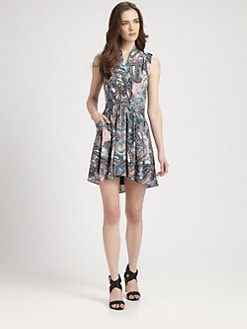 Rebecca Minkoff - Mojabe Silk Dress