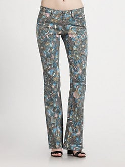 Rebecca Minkoff - Stretch Cotton Skinny Pants