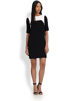 Tibi - Alexa Colorblock Dress