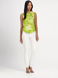 Tibi - Daisies Sleeveless Top