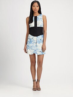 Tibi - Daisies Sleeveless Dress