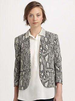 Rebecca Taylor - Python-Print Jacket