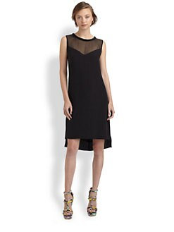 Rebecca Taylor - Classic Silk Shift Dress