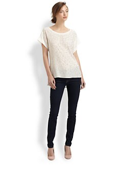 Rebecca Taylor - Sequin Tee