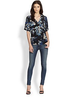 Rebecca Taylor - Hawaii Silk Blouse