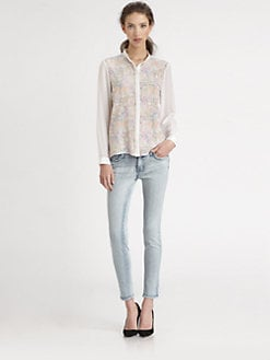 Tibi - Potpourri Silk Blouse