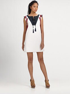 Sachin + Babi - Hadley Embroidered Dress