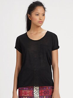 Sachin + Babi - Zylo Stretch Silk T-Shirt