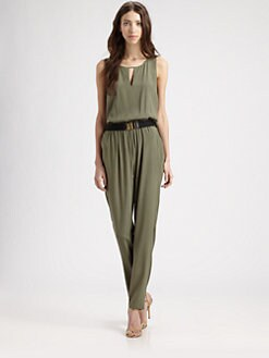 Sachin + Babi - Stretch Silk Sorrento Jumpsuit