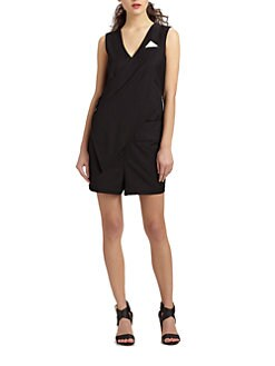 Kara Laricks - Tux-Tail Short Jumpsuit