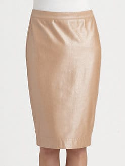 Robert Rodriguez - Coated Pencil Skirt