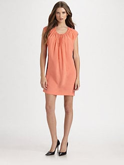 Robert Rodriguez - Colorblocked Tunic Dress