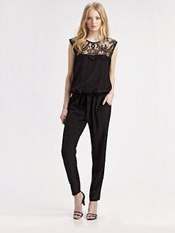 Mason by Michelle Mason - Modern Silk Jumpsuit