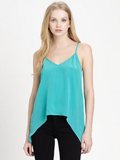 Mason by Michelle Mason - Silk Trapeze Camisole