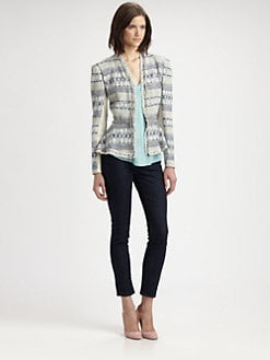 Rebecca Taylor - Tweed & Chain Jacket