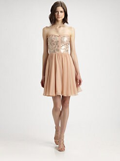 Rebecca Taylor - Sequin Strapless Dress