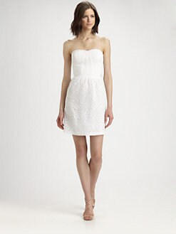 Rebecca Taylor - Silk Eyelet Dress