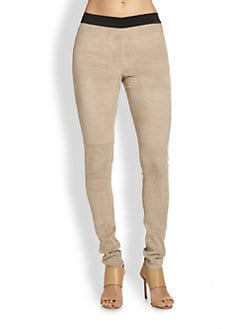 By Malene Birger - Mendai Lovely Suede Leggings
