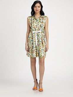Rebecca Minkoff - Aruba Floral Silk Dress