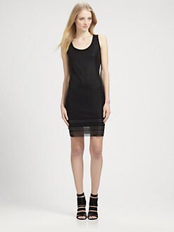 Grayse - Studded Sleeveless Dress