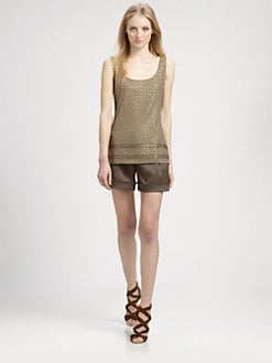 Grayse - Beaded Tank Top
