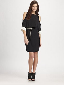 Sachin + Babi - Gia Open-Sleeve Dress With Belt
