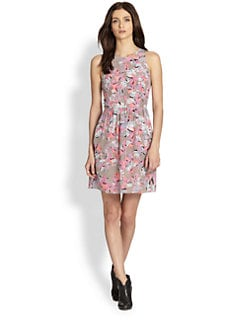 Rebecca Taylor - Tropical Silk Dress