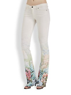 Rebecca Minkoff - Digital Floral Jeans