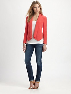 Rebecca Minkoff - Becky Silk Blazer