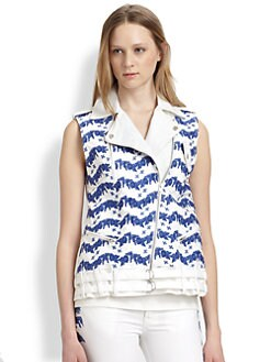 Rebecca Minkoff - Embroidered Jodi vest