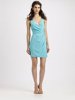 Zimmermann - Silk Cross-Back Dress