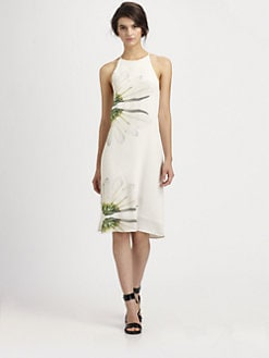 Tibi - Emme Floral Silk Dress