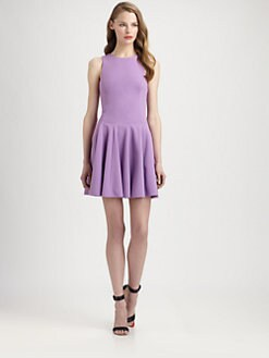 Tibi - Fit-And-Flare Ponte Dress