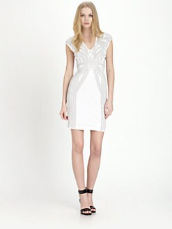 Rebecca Taylor - Studded Sheath Dress