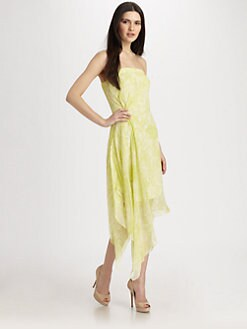 Robert Rodriguez - Silk Handkerchief Dress