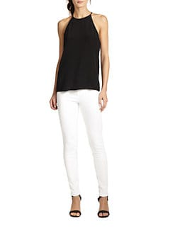 Tibi - Silk Racerback Camisole