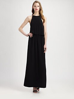 Tibi - Silk Maxi Dress