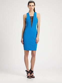 Robert Rodriguez - Bonded Techno Dress