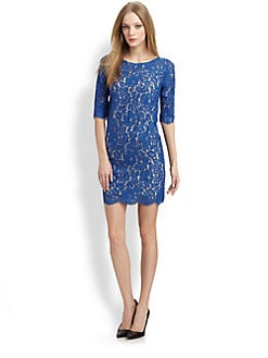 Robert Rodriguez - Lace Shift Dress